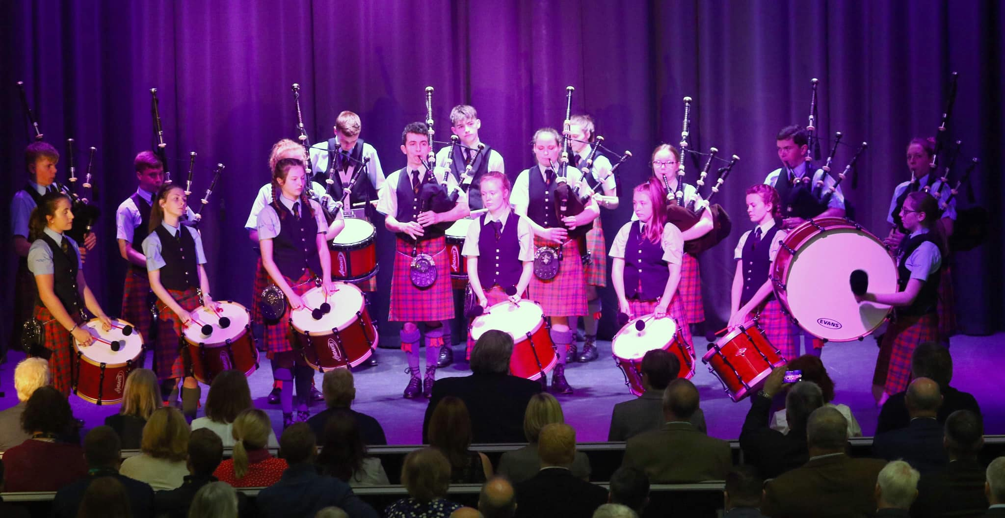 Oban High School Pipe Band - World Champions